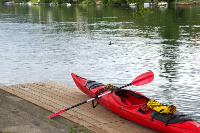 equipement kayak pour le pèche