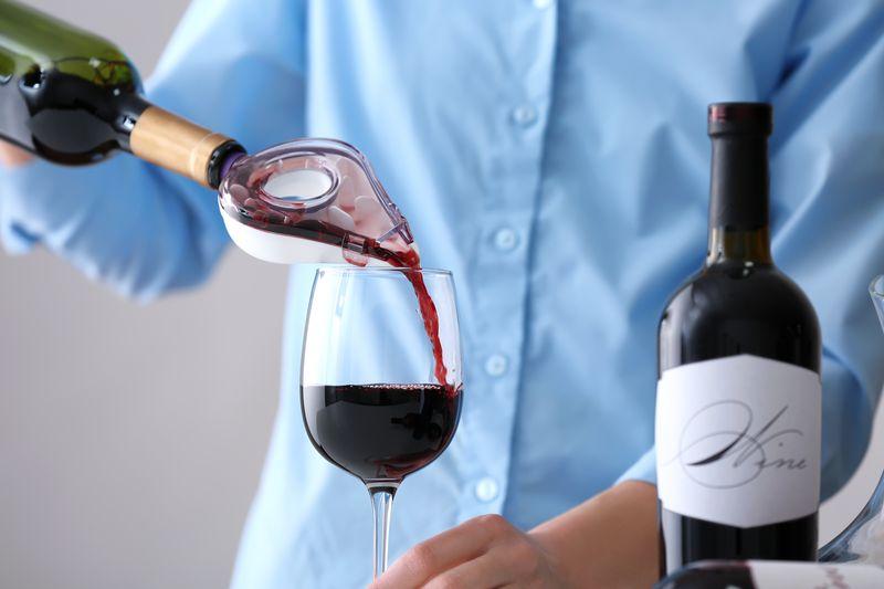 aérateur pour vin